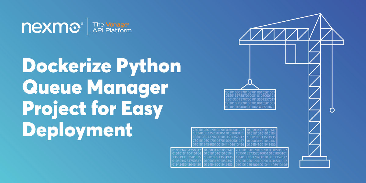 Dockerize Python Queue Manager Project for Easy Deployment