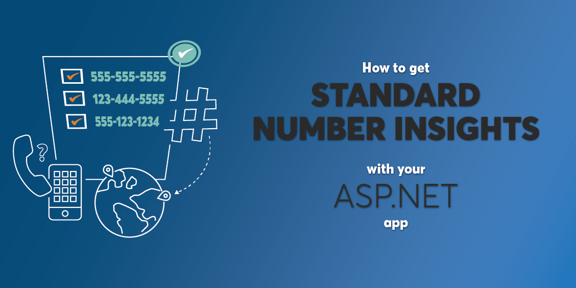 How to Get Standard Number Insights Within an ASP.NET App