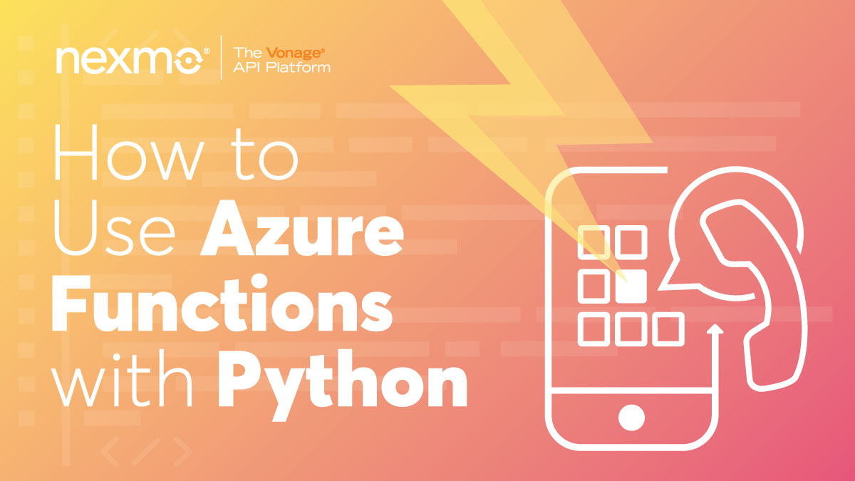 How to Use Azure Functions With Python