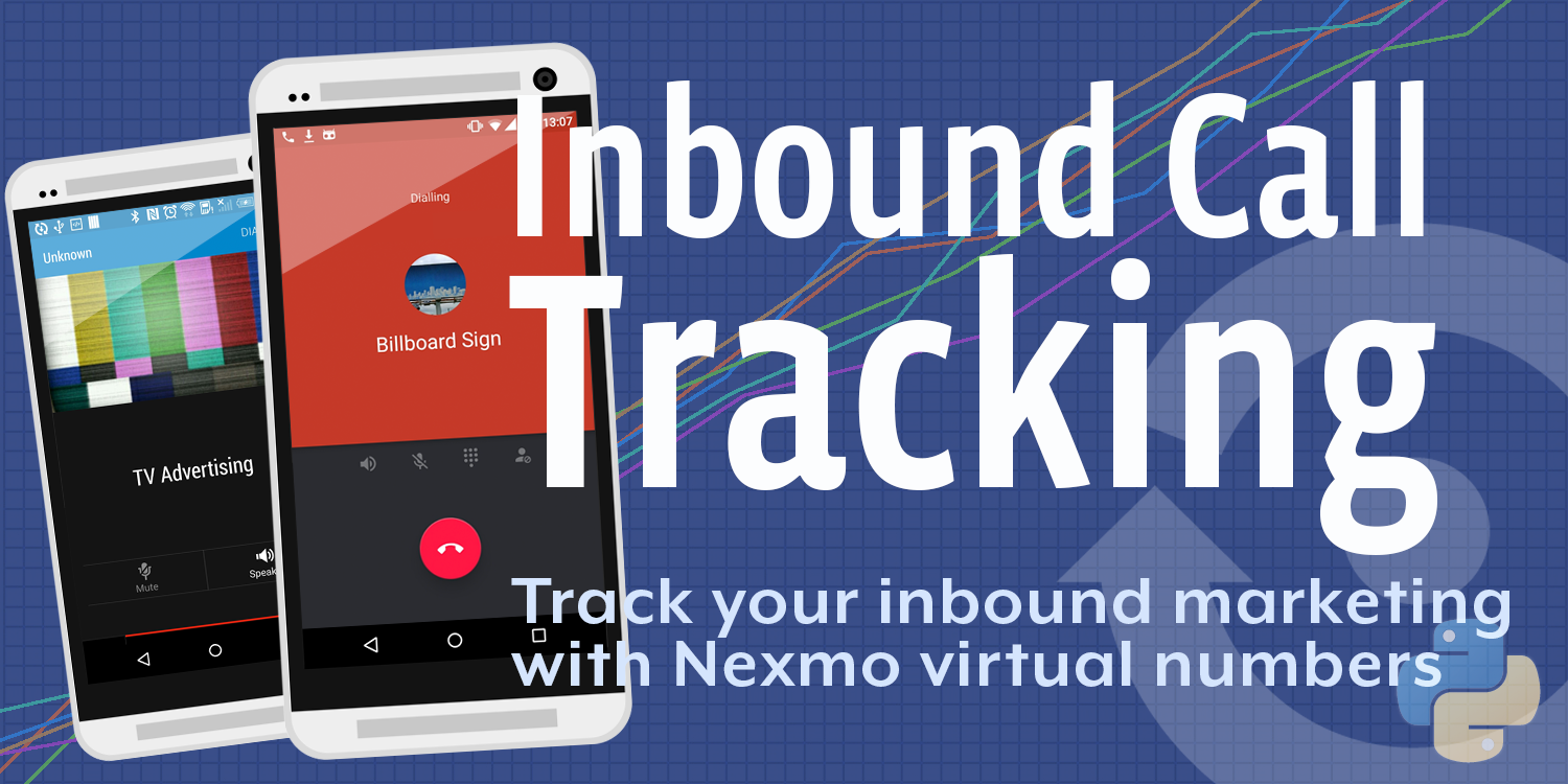 Inbound voice call campaign tracking with Nexmo virtual numbers and Mixpanel