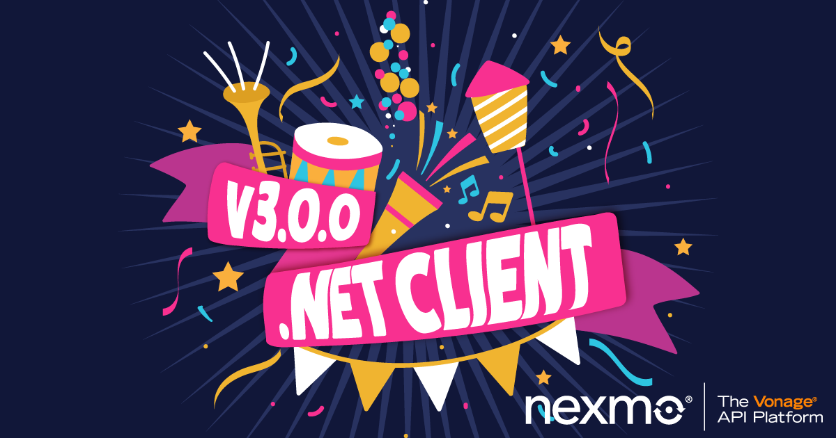 Nexmo Releases New Version of .NET Client Library