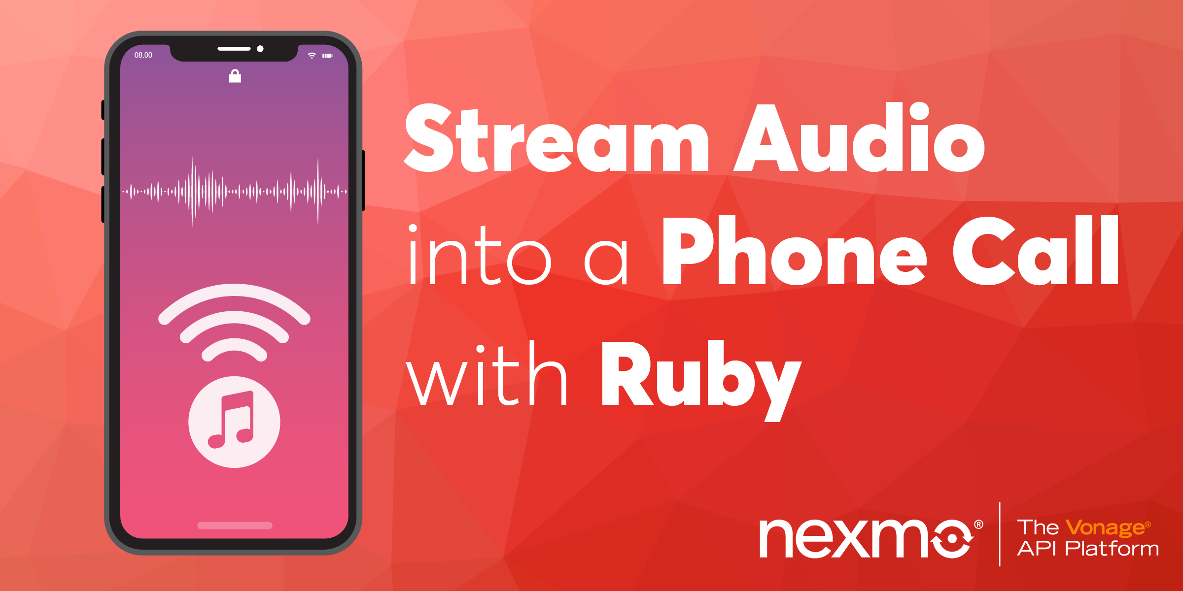 Play Streaming Audio to a Phone Call with Ruby