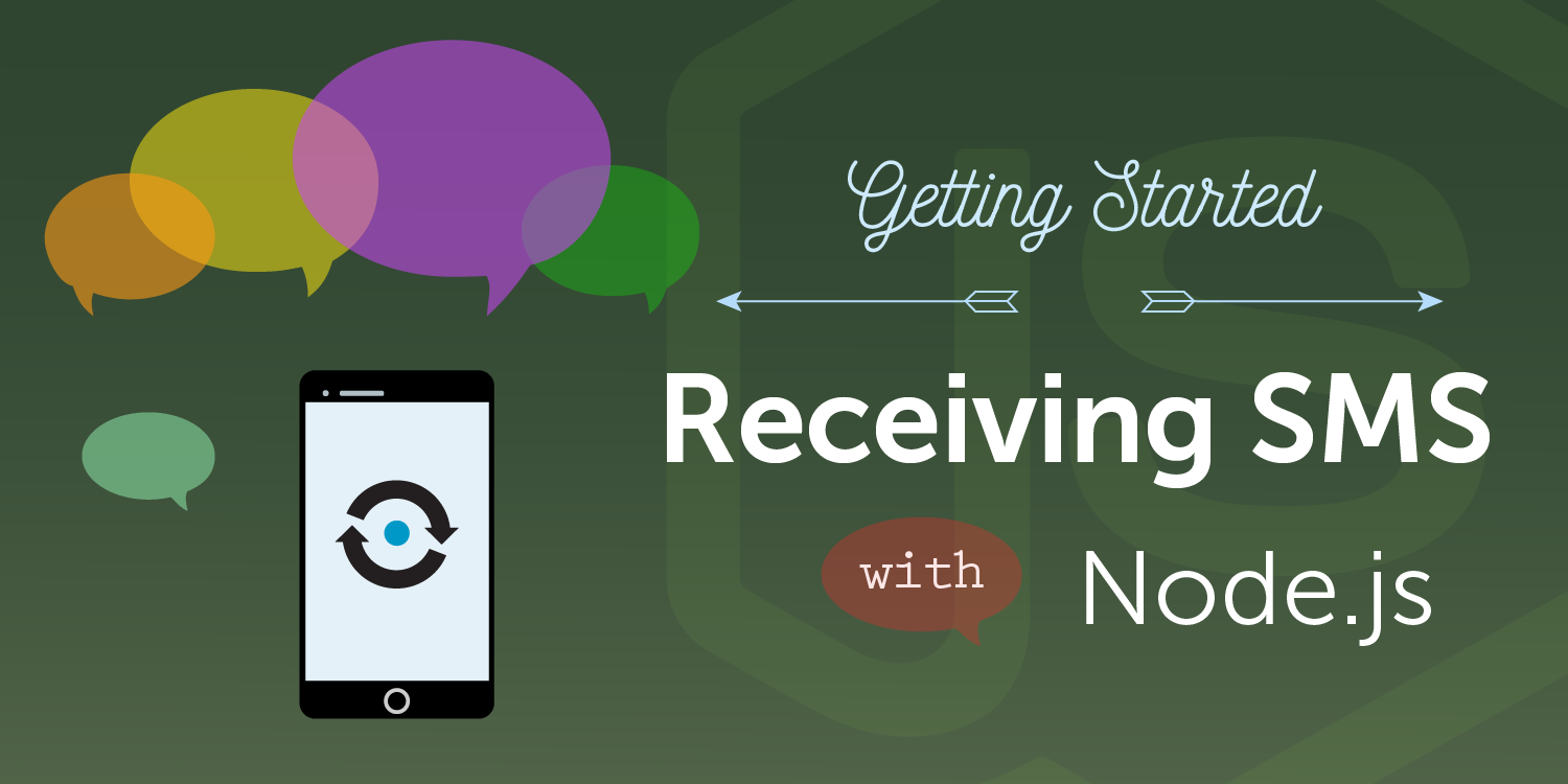 How to Receive SMS Messages with Node.js and Express