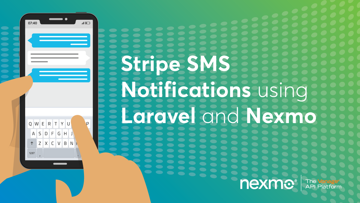 Stripe SMS Notifications Using Laravel