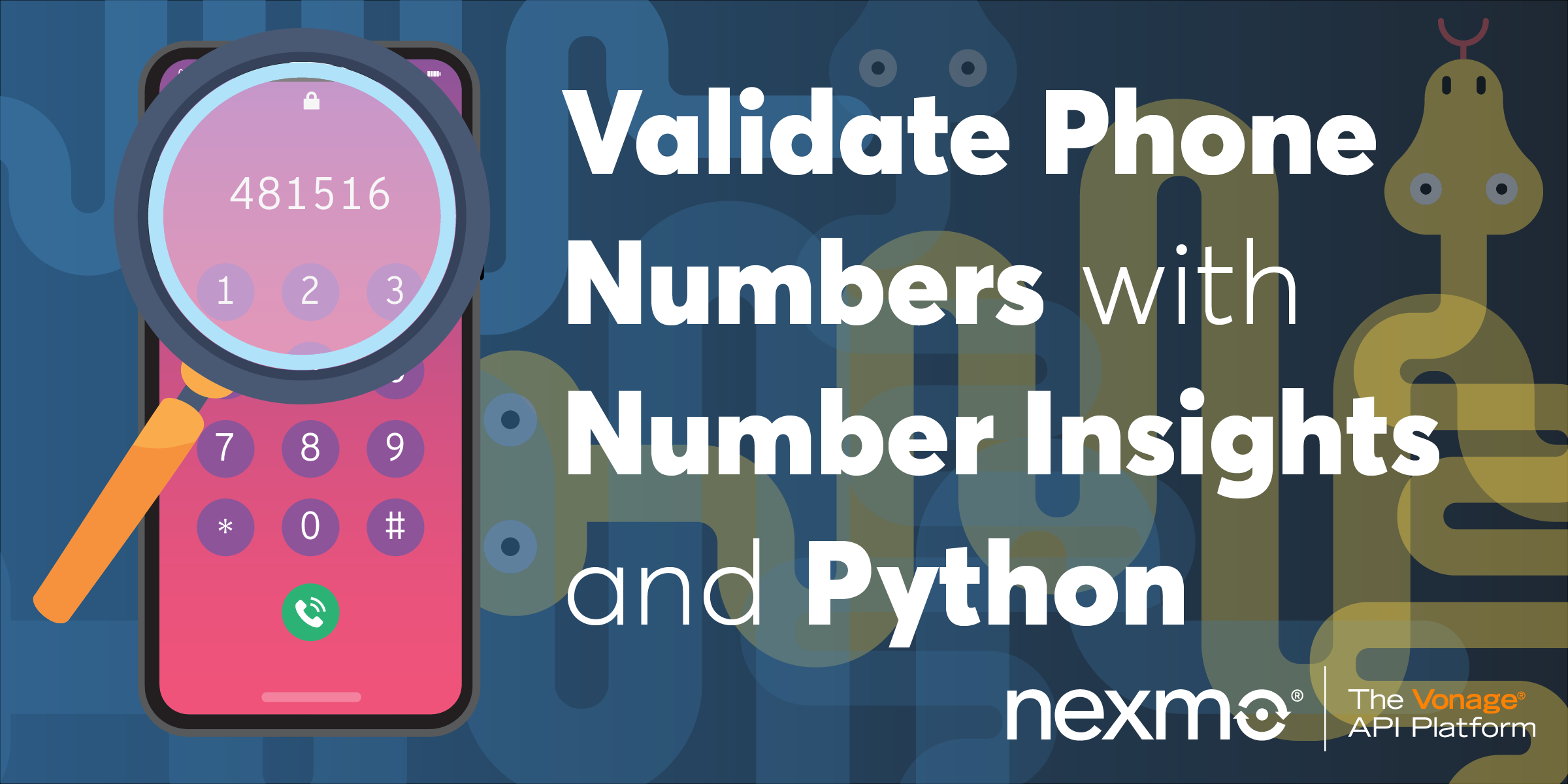 Validate Telephone Numbers with Nexmo Number Insights and Python