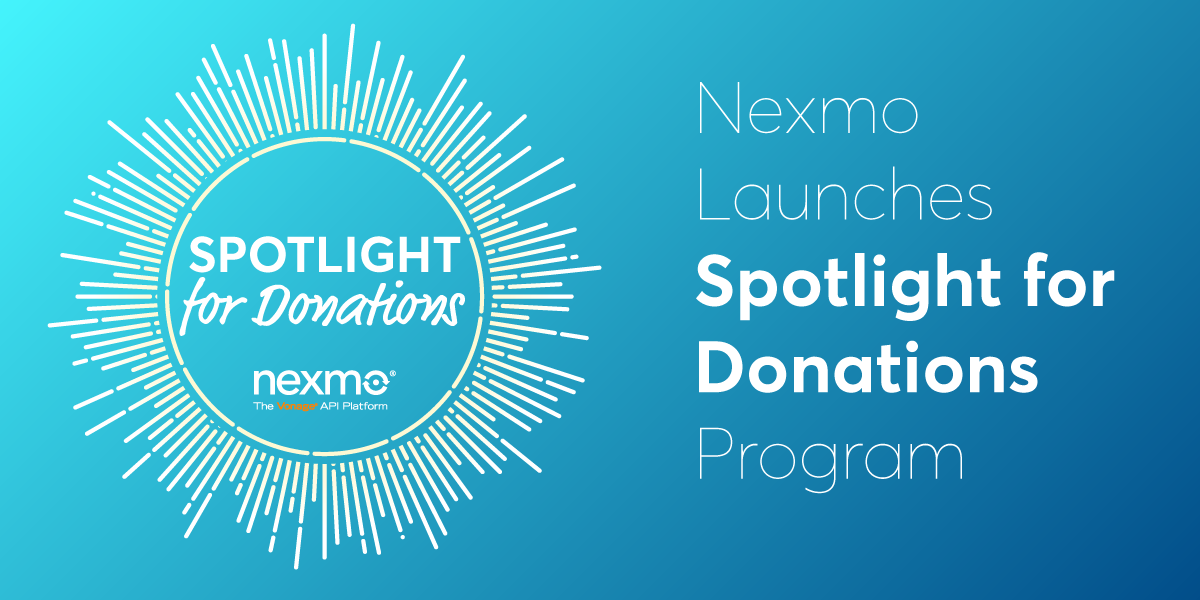 Vonage Launches Spotlight for Donations Program
